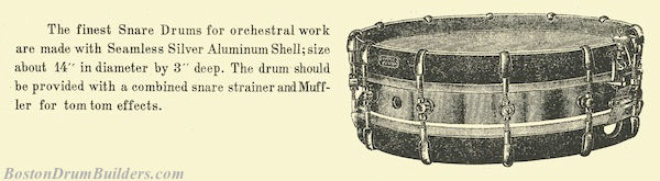 Dodge Orchestra Drum description