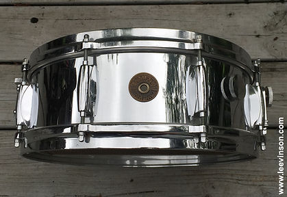 "1960s Gretsch ""Chrome Plated Metal Snare Drum"""