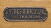 Nokes & Nicolai Drum Badge