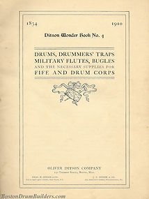 Ditson Wonderbook No. 4, 1910 - Inside Cover