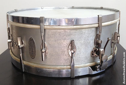 George B. Stone & Son All-Metal Master-Model Drum