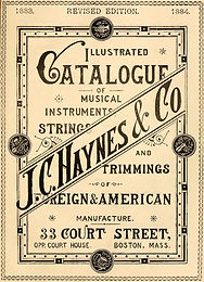 1883 J. C. Haynes & Co. Catalog