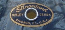 Slingerland Drum Badge