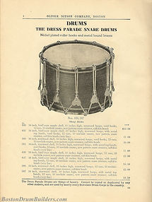 Ditson Wonderbook No. 4, 1910 - Dress Parade Snare Drums