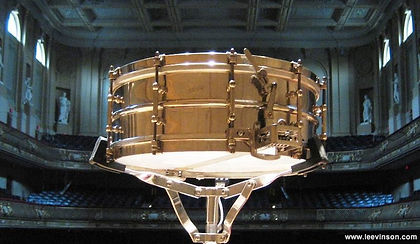 "Ludwig & Ludwig Nickel over Brass ""Super-Ludwig"" Snare Drum"