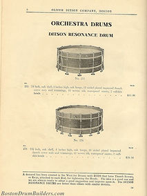 Ditson Wonderbook No. 4, 1910 - Ditson Resonance Drums