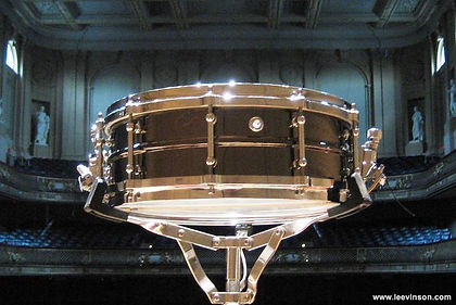 """5"""" x 14"""" brass snare drum"""
