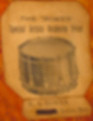 Early Harry A. Bower Drum Label