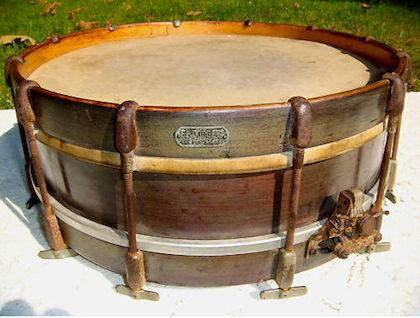 F. E. Dodge Thumbrod Orchestra Drum, ca. 1909 - 1912