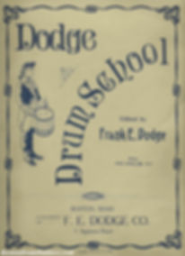Dodge Drum School published by F. E. Dodge Co. 1909