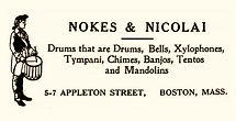Nokes & Nicolai Drum Logo