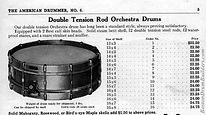 Nokes & Nicolai American Drummer No. 6