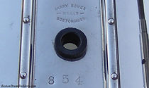 Harry A. Bower Snare Drum Shell Stamp