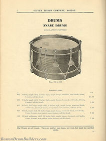 Ditson Wonderbook No. 4, 1910 - Regulation Pattern Snare Drums