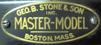 Geo. B. Stone Master-Model Drum Badge, 1923 - mid 1930s
