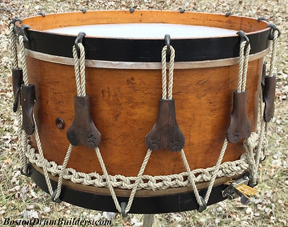 J. B. Treat Artist Drum for Thompson & Odell, ca. 1890