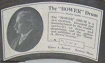 Harry A. Bower Drum Label