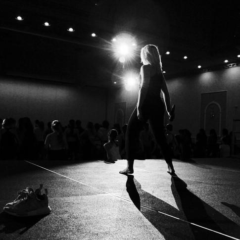 Victoria Baldesarra teaching at No Limits Dance Experience