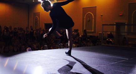 Jordan Clark teaching contemporary