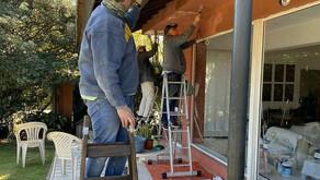 Se realizaron trabajos de mantenimiento en la Casa durante la cuarentana