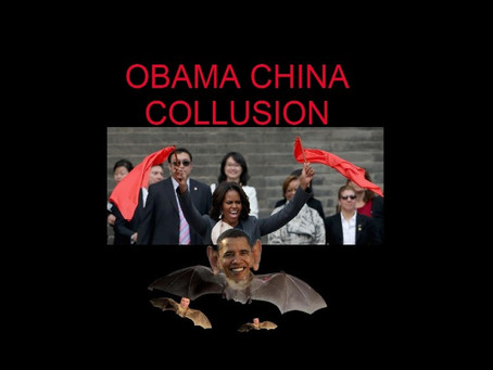 CHINA COLLUSION THEORY: OBAMA LINKED TO CORONAVIRUS RESEARCH IN CHINA