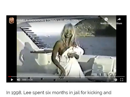 TOMMY LEE SEX VIDEO: PERFECT EXAMPLE OF A CONFUSED, IMMORAL, HYPOCRITICAL, MORONIC AND DUPED LIBERAL