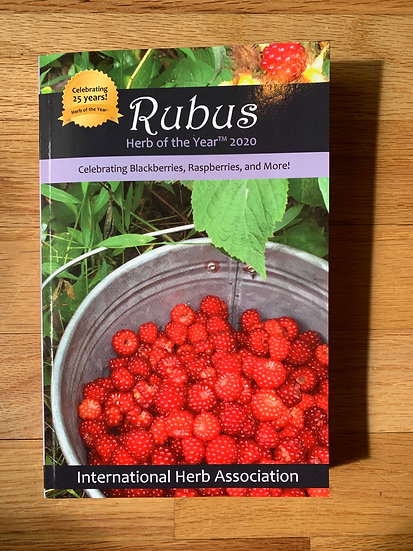 Rubus Herb of the year book