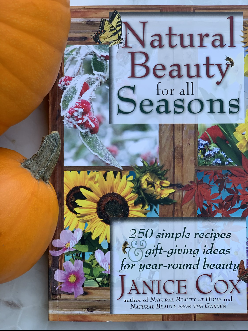 Cover shot of Natural Beauty for All Seasons book by Janice Cox