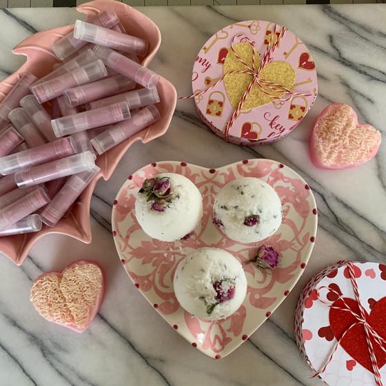 DIY Natural Beauty Valentines