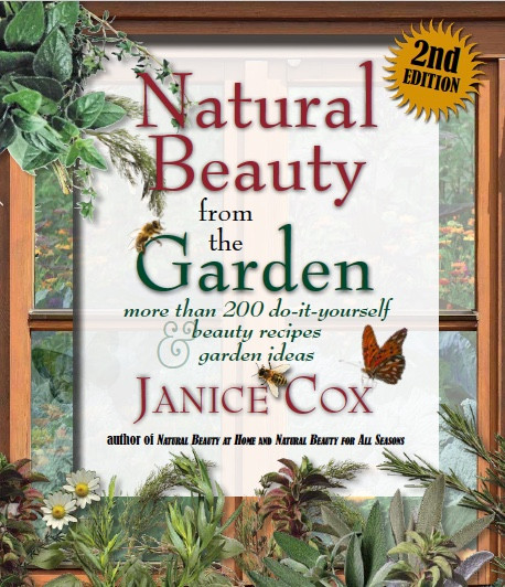 Natural Beauty from the Garden is available!!