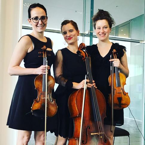 Trio jazz/pop pour embellir le cocktail de la soirée CFA Québec.