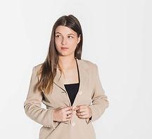 Elsa Barozzi est violoniste pour le Collectif de la Cité
