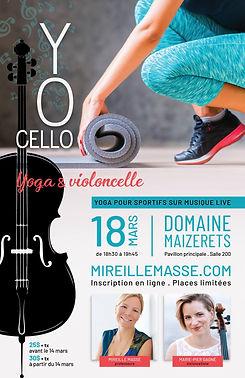 Yoga & violoncelle