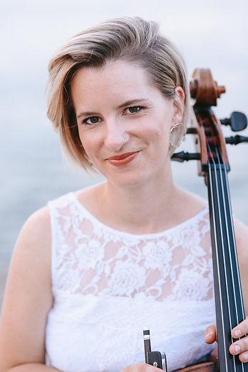 Marie-Pier Gagné est violoncelliste pour le Collectif de la Cité