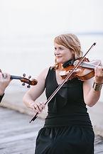 Marie-Noëlle Harvey est violoniste et altiste au sein du Collectif de la Cité