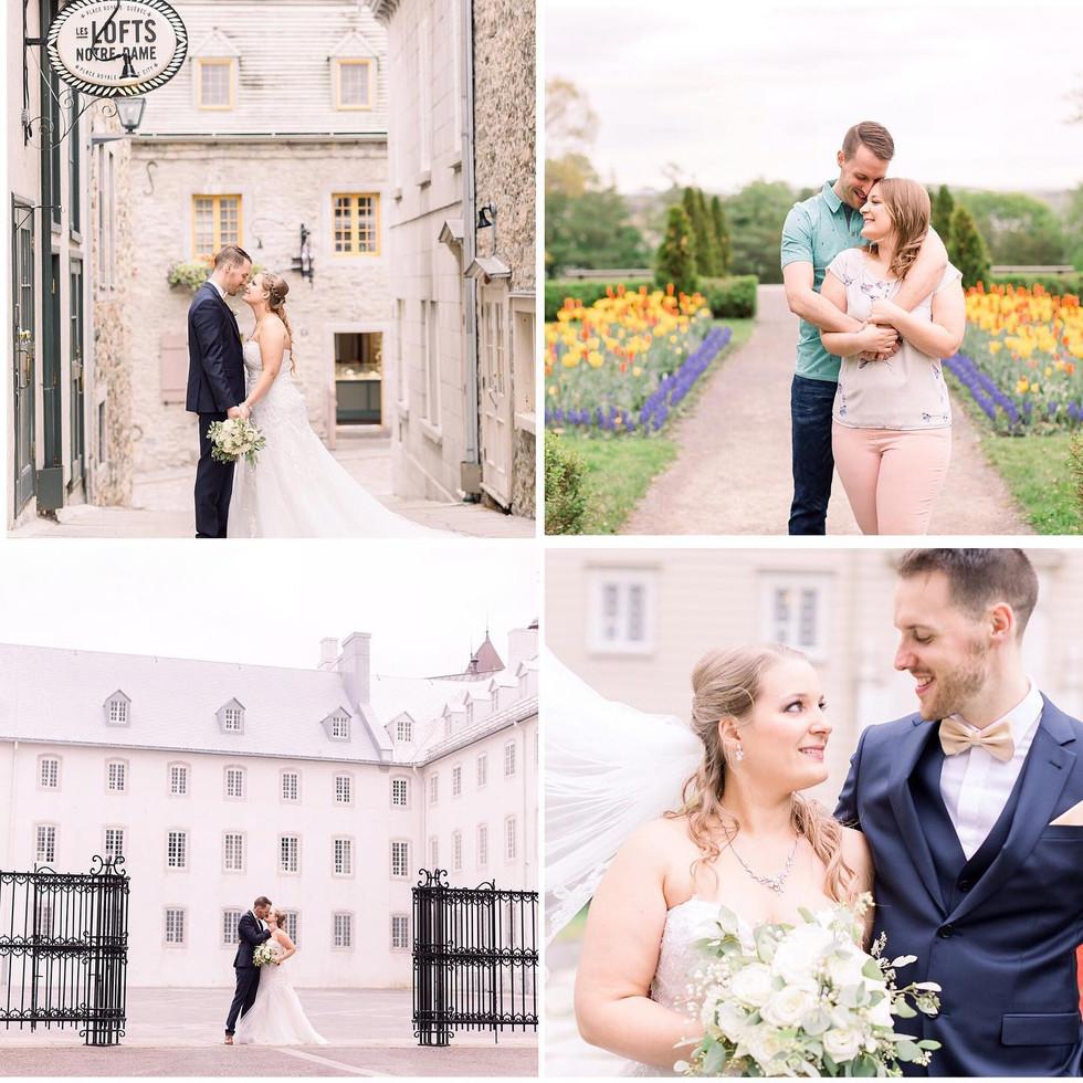 Le mariage de Coralie et Jolin reflétait de manière parfaite la douceur et le calme de ces deux amoureux!