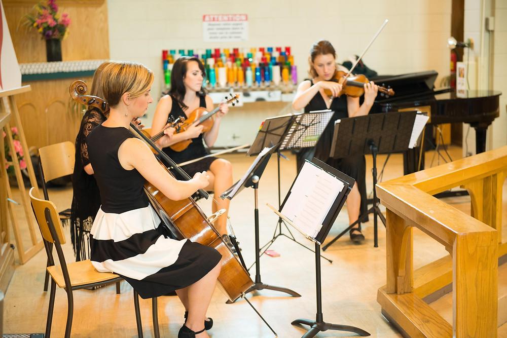 Collectif de la Cité: Quatuor à cordes pour mariage au Québec
