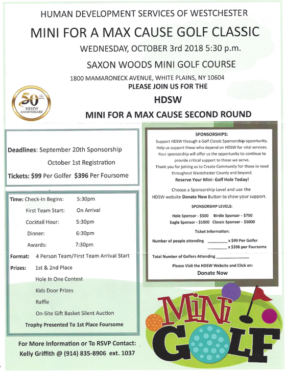 Mini for a Max Cause Golf Classic