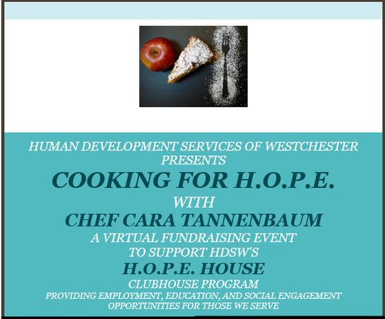 A Virtual Fundraising Event With Chef Cara Tannenbaum
