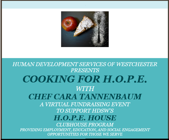 A Virtual Fundraising Event With Chef Cara Tannenbaum