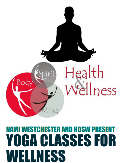 NAMI Westchester and HDSW Present Yoga Classes for Wellness