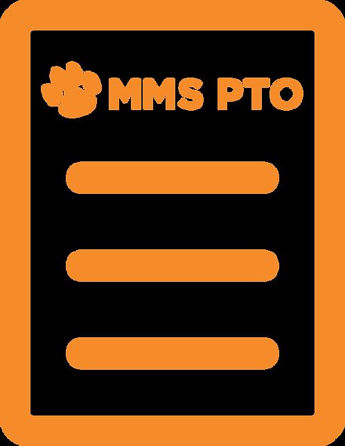 Madison Middle School PTO Membership - Orange Level