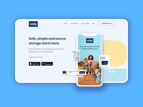 Cubby App & Website