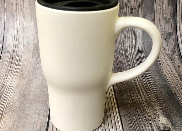 Travel Mug w/Lid (Lid provided after firing)