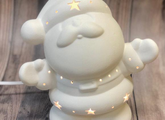 Santa with Light Kit