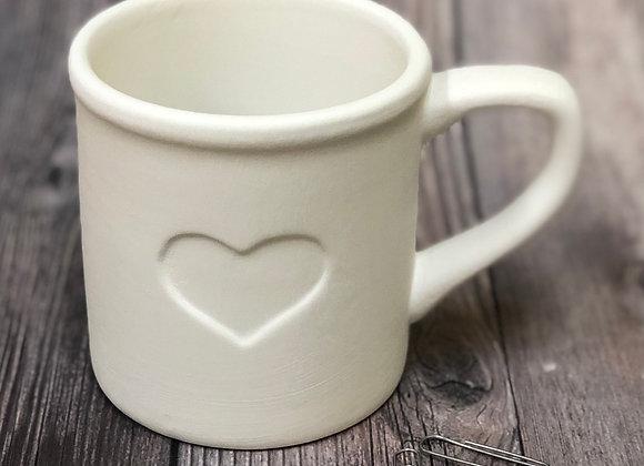 Tin Man Heart Mug