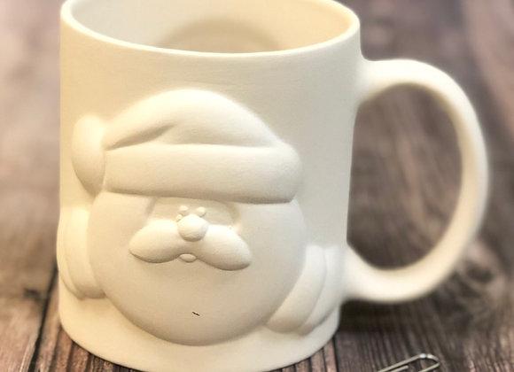 Santa Peek a Boo Mug