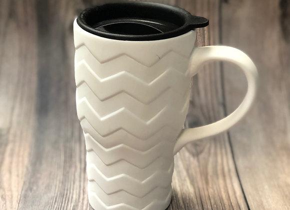Chevron Travel Mug (w/Lid)