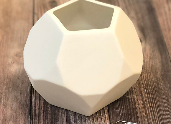 Faceted Planter / Bowl