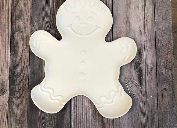 Gingerbread Man Dish